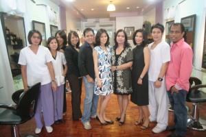 The Krizalis Beauty Salon team who creates beautiful transformations