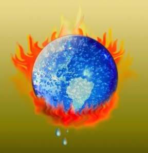 Earth heating up due to corruption