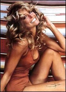 1970's sexpot Farrah Fawcett