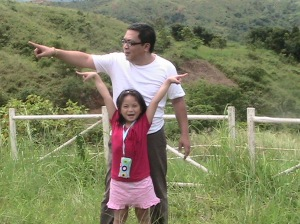 me and my lovely daughter in sierra madre