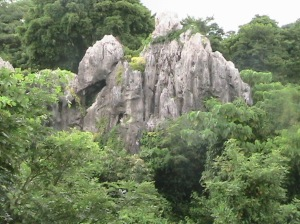 Cave along Marcos HIghway in Quezon Province