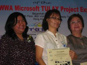 Ople in HK for her Microsoft TULAY Project