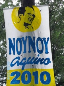 alleged Noynoy posters in Pampanga